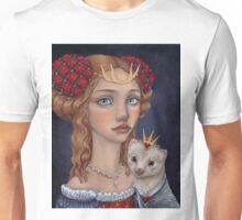 Lady with a Ferret Unisex T-Shirt