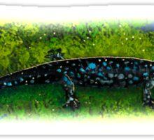Blue-Spotted Salamander Sticker