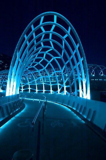 Webb Bridge Entrance by Enrico Bettesworth