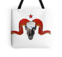 Turbo Ram Skull Tote Bag