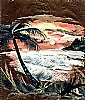 ISLAND SUNSET BREEZES by francelle  huffman