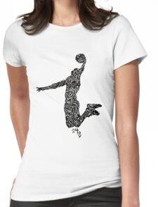 Kobe Bryant ...the black Mamba Womens Fitted T-Shirt