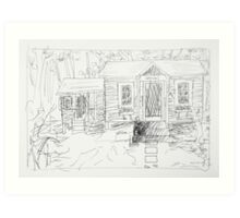 office 2014/ageless be sketch Art Print