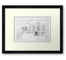office 2014/ageless be sketch Framed Print