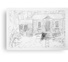 office 2014/ageless be sketch Canvas Print