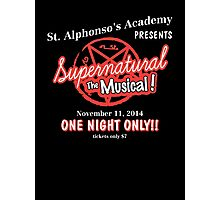 Supernatural The Musical Photographic Print