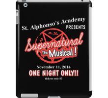 Supernatural The Musical iPad Case/Skin