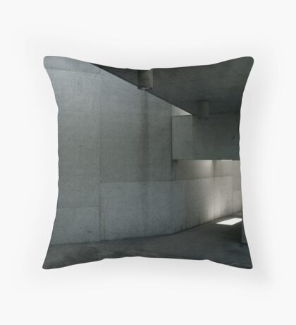 Concrete Space Throw Pillow