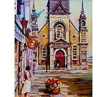 CANADIAN URBAN PAINTINGS MONTREAL SCENES BY CANADIAN ARTIST CAROLE SPANDAU Photographic Print