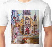 CANADIAN URBAN PAINTINGS MONTREAL SCENES BY CANADIAN ARTIST CAROLE SPANDAU Unisex T-Shirt