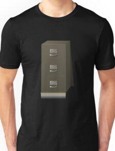 Glitch Groddle Land cubicle cabinet base Unisex T-Shirt