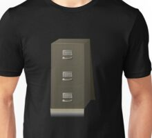 Glitch Groddle Land cubicle cabinet base Unisex T-Shirt