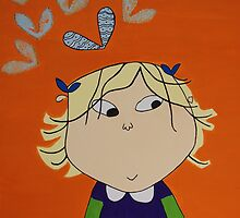 Lola with Butterfly Kisses by moneyspider