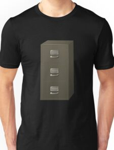 Glitch Groddle Land cubicle cabinet stack Unisex T-Shirt
