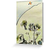 3 Pandanus and a Brahmani Kite Greeting Card