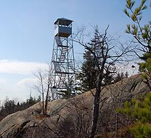Bald Mountain Fire Tower by William Hall