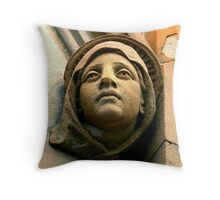 Beauty in stone Throw Pillow