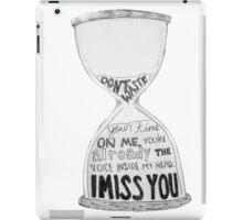 I Miss You - Blink 182 (2) iPad Case/Skin