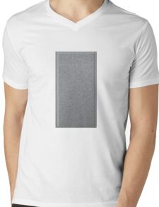 Glitch Groddle Land cubicle wall center Mens V-Neck T-Shirt