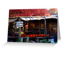 #120  Local Farm Stand Greeting Card