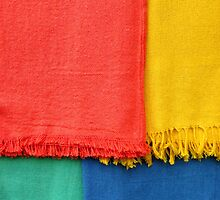 Colorful Towels by Bruno Burini