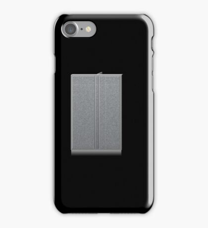 Glitch Groddle Land cubicle wall double iPhone Case/Skin