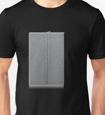 Glitch Groddle Land cubicle wall double Unisex T-Shirt