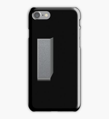 Glitch Groddle Land cubicle wall left iPhone Case/Skin