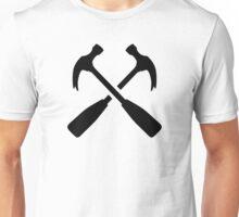 Crossed carpenter hammer Unisex T-Shirt
