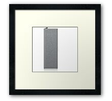 Glitch Groddle Land cubicle wall right Framed Print