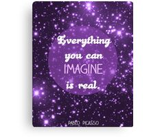 Everything...is Real Canvas Print