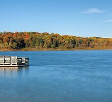 Cagles Mill Lake by Mark Cooper