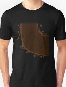 Glitch Groddle Land curve bottom T-Shirt