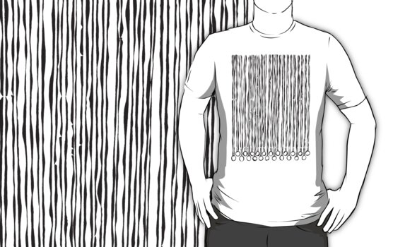 LINEart T-shirt: A Program. Celebration for the Akha. by LINEart
