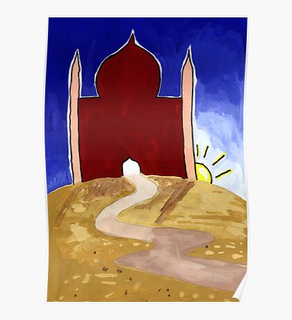Mosque at Sunrise Poster