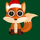 Christmas Fox (2) by Adamzworld