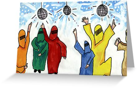 Burqa Disco by John Douglas
