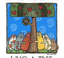 Tree-huggers by Corrie Kuipers