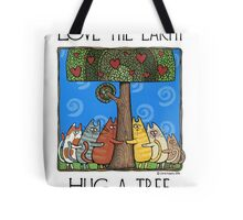 Tree-huggers Tote Bag
