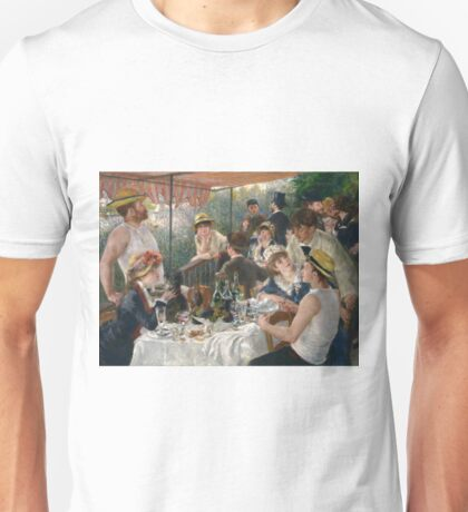 Auguste Renoir - Luncheon Of The Boating Party Unisex T-Shirt
