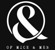 Of Mice & Men Ampersand Logo Merch Kids Clothes