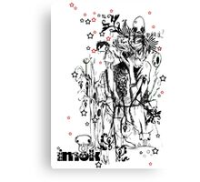 Life Drawing Canvas Print