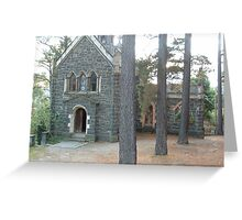Chapel Greeting Card