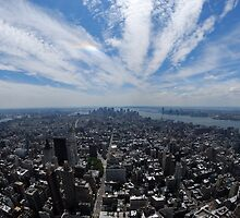 Manhatten Skyline by Paul Quinn