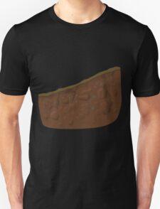 Glitch Groddle Land dirt crosssection short curve T-Shirt