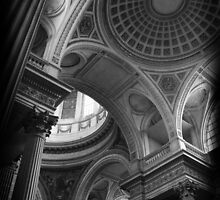 Pantheon Dome, Paris by liquidluma