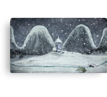 moomin valley Canvas Print