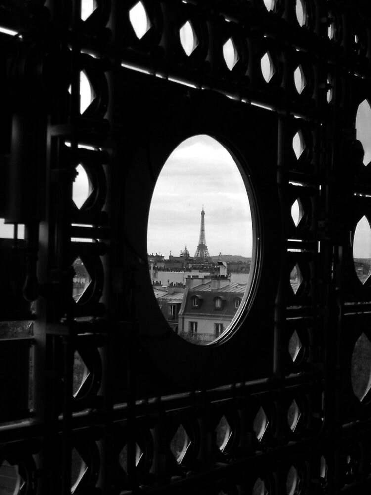 Tour Eiffel de l'institut du monde arabe by mirkosan