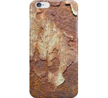 R is for Rust iPhone Case/Skin