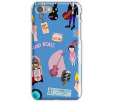 Rockin Retro Pattern iPhone Case/Skin